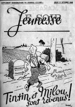 Le Soir Jeunesse, 17 octobre 1940