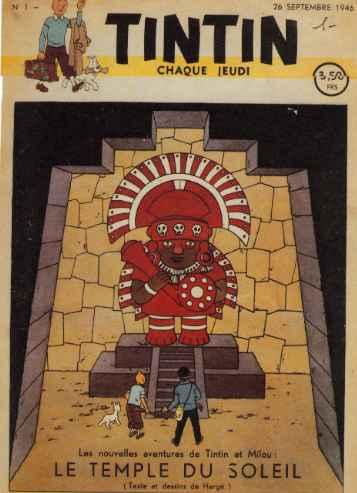"""Le journal """"Tintin"""", 26 septembre 1946"""